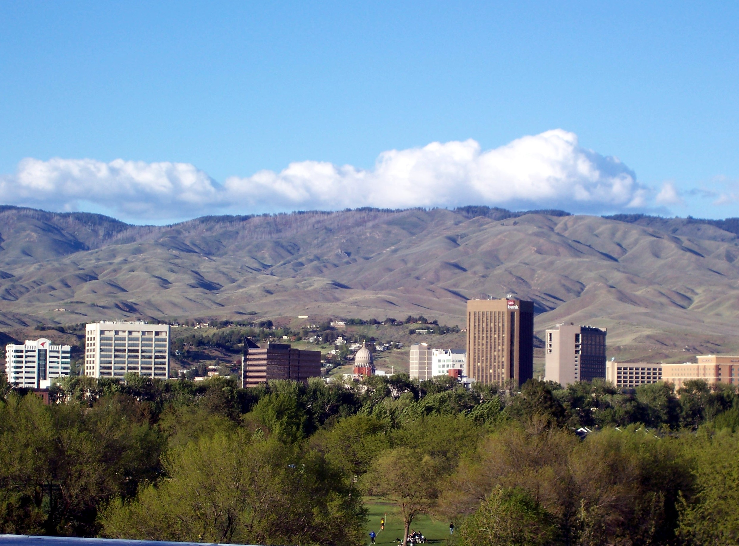 Boise, ID Springtime View