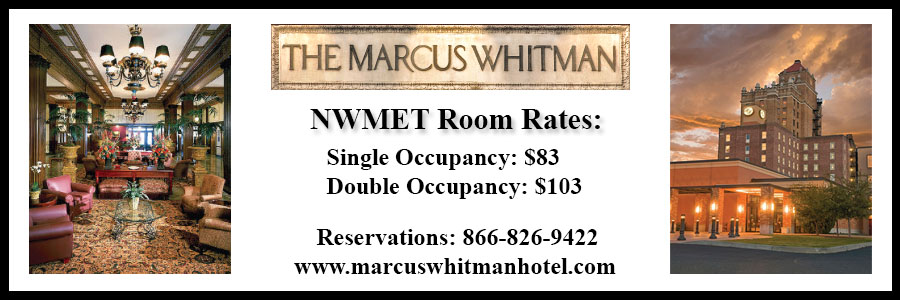 Marcus Whitman Hotel Rates and Contact Information - Room Rates: Single occupancy: $83, double occupancy: $103. Reservations: 866-826-9422. www.marcuswhitmanhotel.com