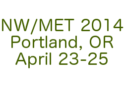 NW/MET 2014 Conference - Save the date