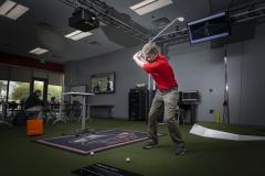 PGA golf interactive simulation room in HOS