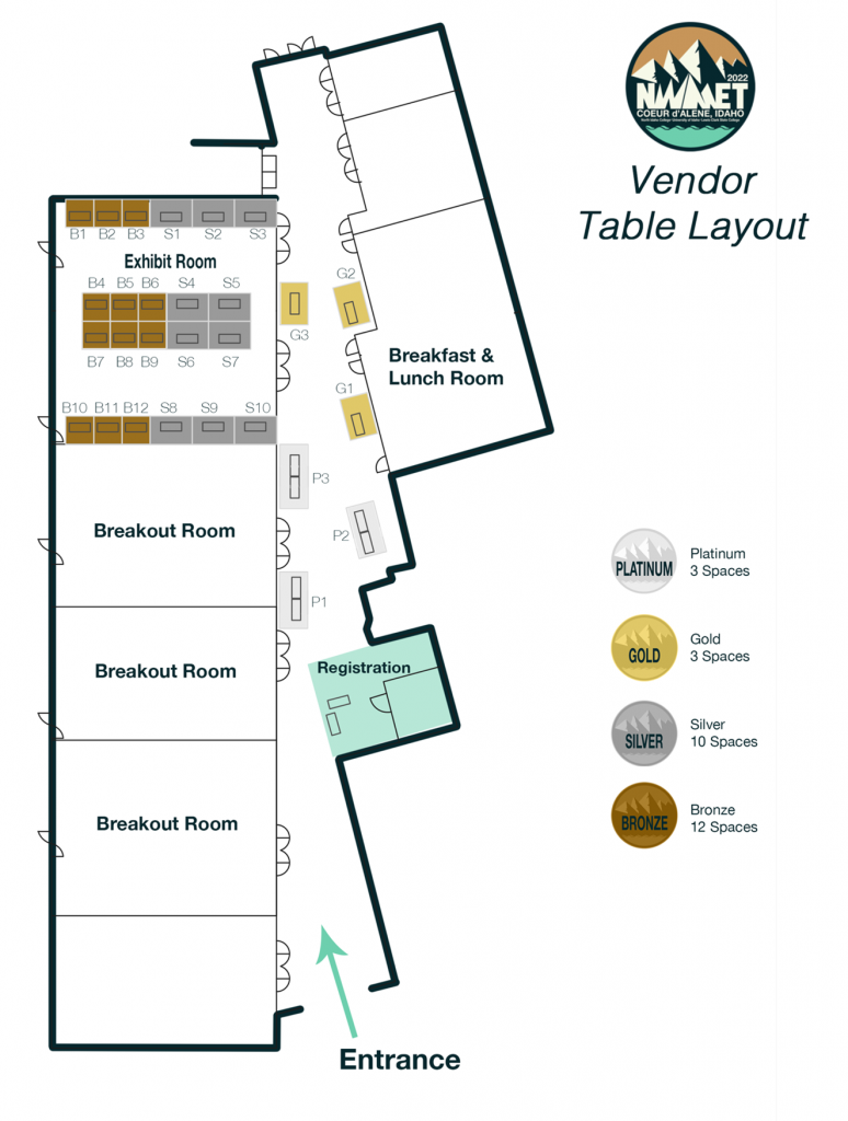 Map of Conference Space