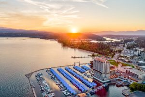 Coeur d'Alene Resort - Sunset